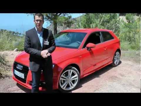 0 Der neue Audi A3 (2012): Impressionen von der ersten Probefahrt [Video] Auto und Technik Entertainment Featured
