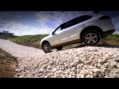 Cayenne Off Road: Porsche Experience Centre Silverstone
