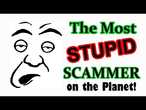 ScamBaiting the Most STUPID Scammer on the Planet!