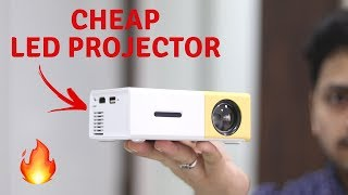 Budget LED Projector | YG-300 LCD LED Projector Unboxing & Review | Tech Unboxing 🔥