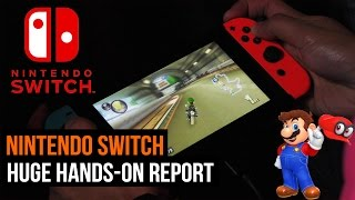 Nintendo Switch: HUGE hands-on preview