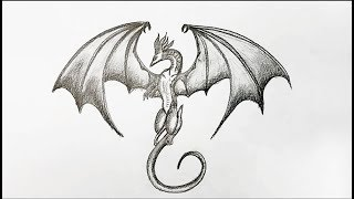 How To Draw Dragon Step By Step