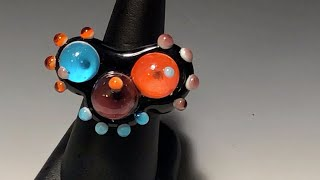 Lampworking / Flameworking A Soft Glass Ring - Episode 7 - Demo