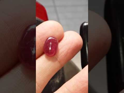 Natural Ruby ( Cat's Eye ) - SBR-2