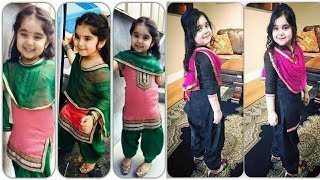 Little Girls Latest Punjabi Suit Designs|Kids Punjabi Suit Design|Salwar Suit For Little Babies 2018
