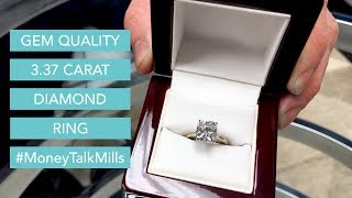 Gem Quality 3.37 Carat Diamond Ring