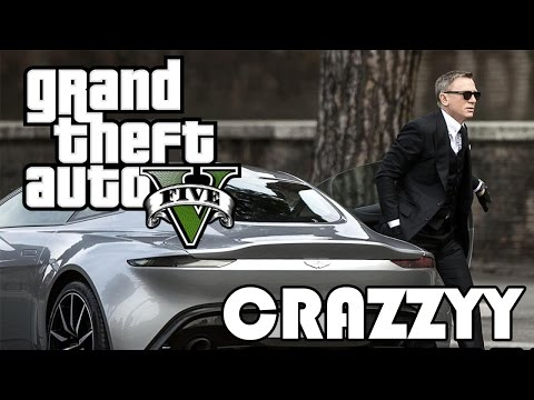 GTA James Bond Spectre DB10 Epic Car Chase Spoof Remake
