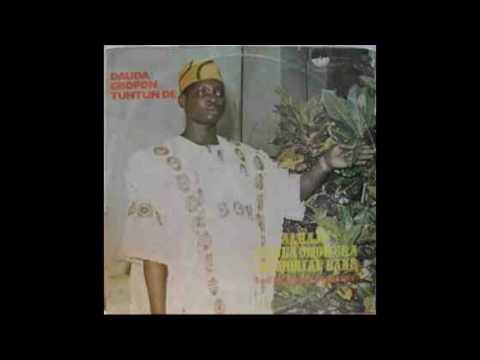 DAUDA OMOWURA -Tribute to Late Haruna Ishola (M.O.N.)