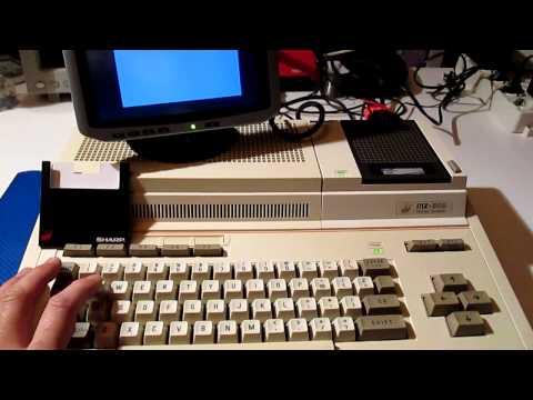 Sharp MZ-800 + Disk Drive MZ-1F11 & MZ-1E19