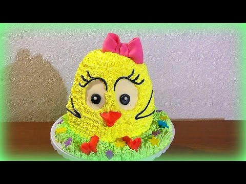 Как сделать торт цыплёнок