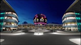 Освещение территории ASTANA EXPO 2017