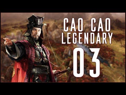 MAKING FRIENDS - Cao Cao (Legendary Romance) - Total War: Three Kingdoms - Ep.03!