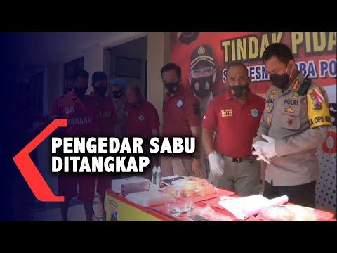 empat pengedar sabu diamankan petugas kepolisian