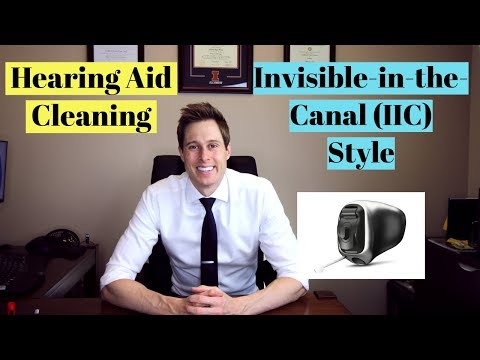 Cleaning an invisible in-the-canal (IIC) hearing aid – Applied Hearing Solutions