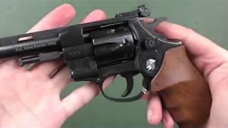 """Револьвер Weihrauch HW4 4"""" с деревянной рукоятью от компании CO2 - магазин оружия без разрешения - видео 2"""