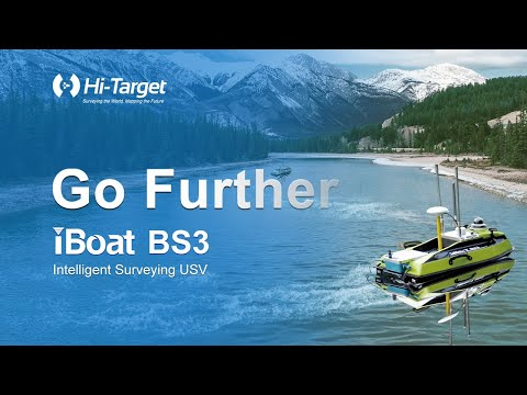 Hi-Target iBoat BS3 Intelligent Surveying USV