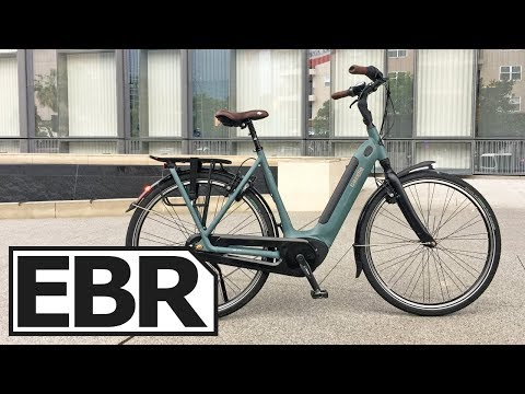 Gazelle Arroyo C8 HMB Elite Video Review – $3.6k Comfortable City Cruiser Commuter Electric Bike