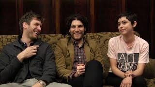 Charles Hood, Adam Pally and Rosa Salazar Talk 'Night Owls' at SXSW