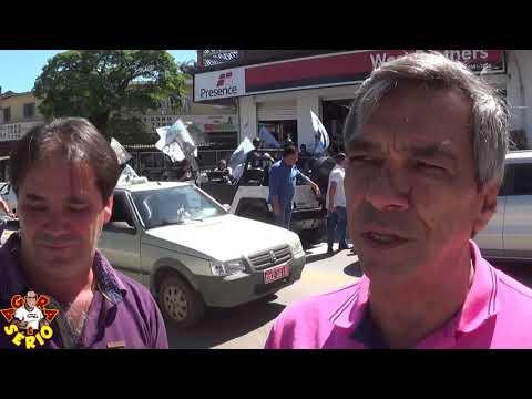 Ginho e Zé Victor juntos e Misturados com Jorge Wilson o Xerife do Consumidor e Celso Russomano em Juquitiba