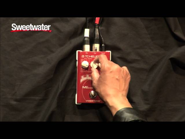 TC Helicon Mic Mechanic Vocal Effects Pedal Demo - Sweetwater Sound