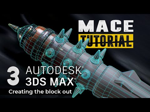 3ds max tutorial  creating the block out