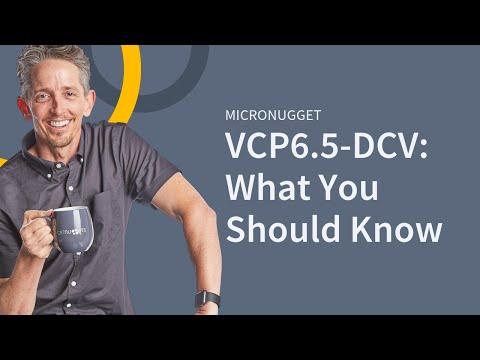 VMware vSphere 6.5 (VCP6.5-DCV) - YouTube