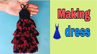 How To Make Doll Dress Making Dress