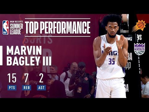 Marvin Bagley III Scores 15pts   7asts In The 2018 MGM Resorts Summer League 13815a68a