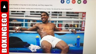 Joshua vs Wilder & Whyte-Browne winner, Canelo Meat Man Story LIVE CHAT