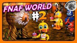 FNaF World (Мир ФНАФ) Прохождение #2 ✅ ЧИСТИМ ПОДЗЕМЕЛЬЕ!