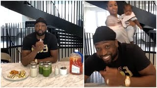 Dwyane Wade shares the detox he's been doing in order to keep his body in shape