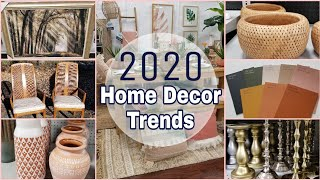 Home Decor Trends For 2020 • What Items And Colors Are Popular This Year!