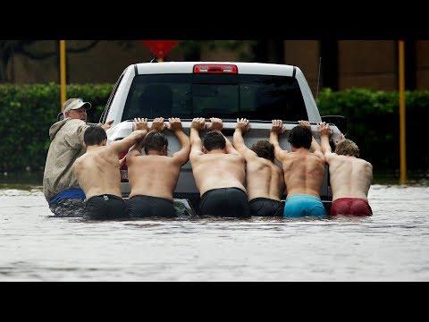 Hurricane Harvey wreaks havoc on Texas