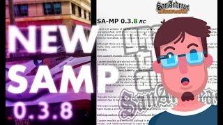 SAMP 0.3.8 ВЫШЕЛ! ОФИЦИАЛЬНАЯ НОВОСТЬ | ССЫЛКА В ОПИСАНИИ