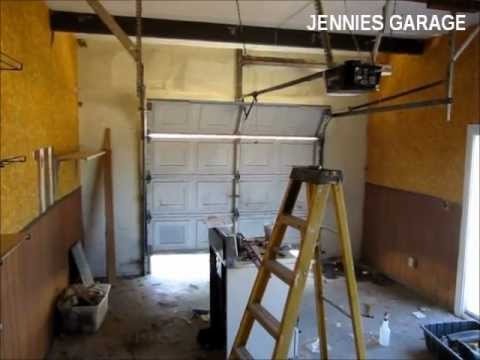 How To Install A Garage Door Opener - First Time For Everything!