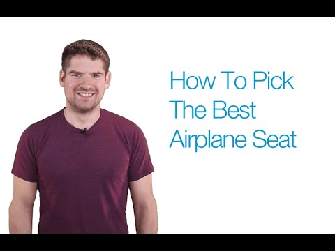 How To Pick The Best Airplane Seat Every Time