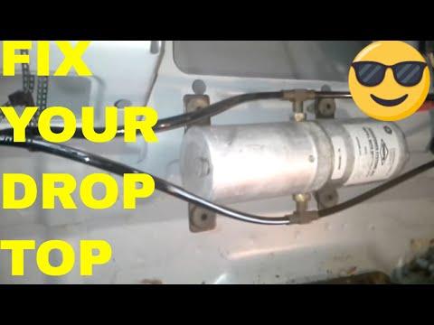 fix repair chrysler sebring convertible top hydraulic 2002 ford taurus fuse box location 2005 ford taurus fuse box location