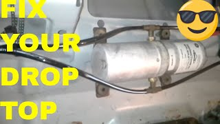 Fix/Repair Chrysler Sebring Convertible Top, Hydraulic Motor Fill