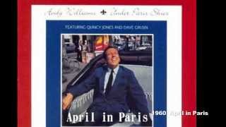 Andy Williams Original Album Collection vol.1   April in Paris 1960