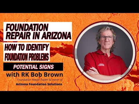 Bob Brown is a certified foundation repair specialist and the owner of Arizona Foundation Solutions, an AZ company specialized in structural damage repair and structural stabilization of all types of residential and commercial foundations.