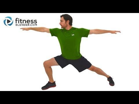 Visą kūną apšidanti 5 min. kardiotreniruotė