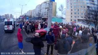 ДТП на проезжей части напротив улицы Притыцкого, 40