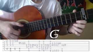 Emma Bale - Run (Lost Frequencies Remix) - Fingerstyle Guitar Lesson