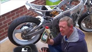 Honda CBR400 Budget Track Bike - Part 16  Brake Bleeding