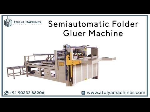 Semi Auto Folder Gluer