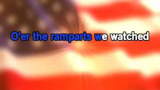 National anthem The Star Spangled Banner - Karaoke video