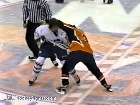 Dave Scatchard vs. Shayne Corson