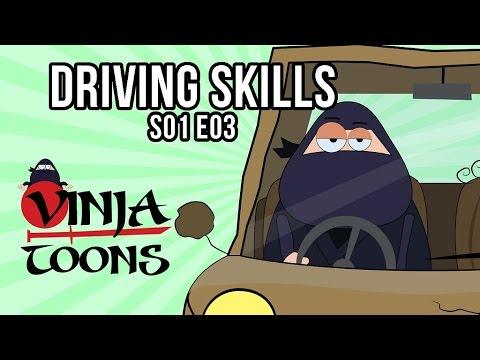 Vinjatoons Episode Season 1 Episode 03 - Driving Skills | Part 1