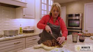 Nina Makes Beef Stew Our Of Leftovers - Ninas New Orleans Kitchen