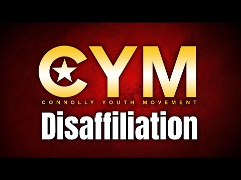 CYM Disaffiliation from the CPI   Interview with the Connolly Youth Movement